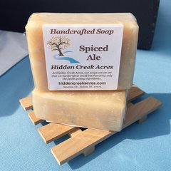 Spiced Ale ~ Handcrafted Beer, Aloe, & Shea Butter Soap