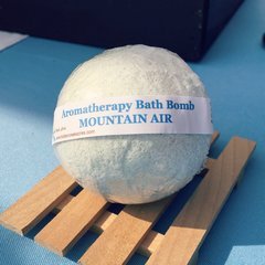 Bath Bombs ~ MOUNTAIN AIR Aromatherapy Bath Bomb ~ 4.5oz