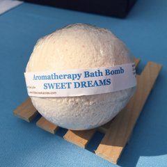 Bath Bombs ~ SWEET DREAMS Aromatherapy Bath Bomb ~ 4.5oz