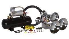 Outlaw Chrome 228CX Train Horn Kit