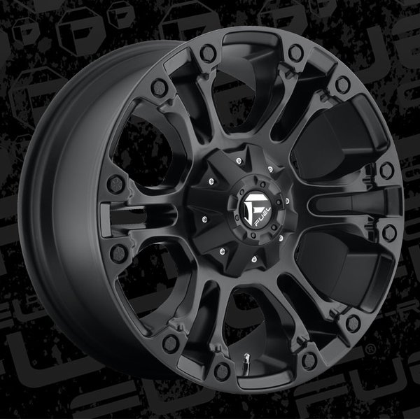 Fuel Offroad D560 Vapor Wheels | All Out Industries