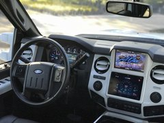 13-16 Superduty iPad Mini In Dash Kit