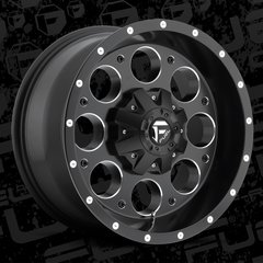 Fuel Offroad D525 Revolver Wheels