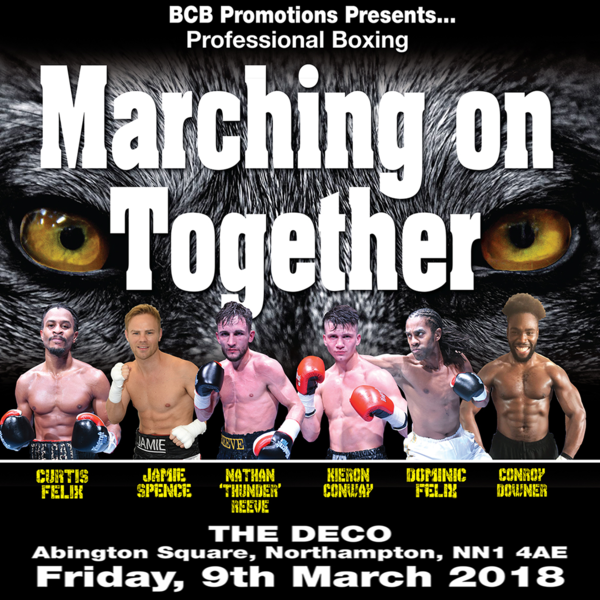 MARCHING ON TOGETHER 9th March 2018, Northampton (Prices from)