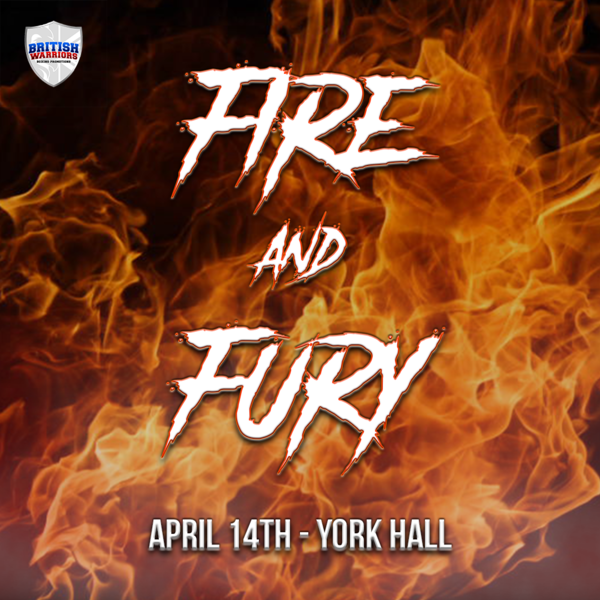 Fire & Fury, 14th April 2018, York Hall (Prices from)