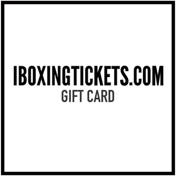 iboxingtickets Gift Card (Prices from)