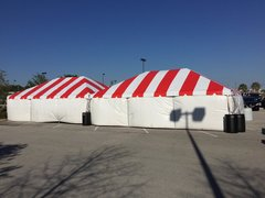 16' x 32' Frame Tent SuperSale (Same Price for 1 or 3-Piece)