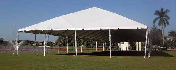 50' x 100' Frame Tent (Single & Twin Tube Hybrid Aluminum)