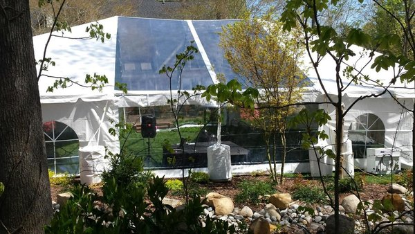 20' x 10' Clear Tent Sidewall (Heavy Duty Supreme Commercial Quality 20 Gauge) - Free Shipping to Select Locations