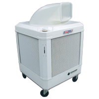 WayCool® Portable Oscillating Evaporative Cooler (Model # WC-1HPMFAOSC). Feel it 70 Ft. away!! -Click on Picture