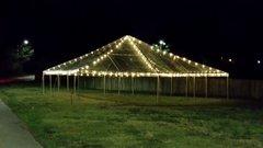 50' x 50' Frame Tent