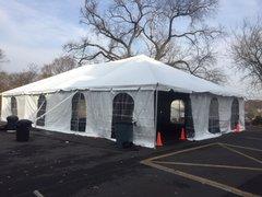 30' x 40' Frame Tent