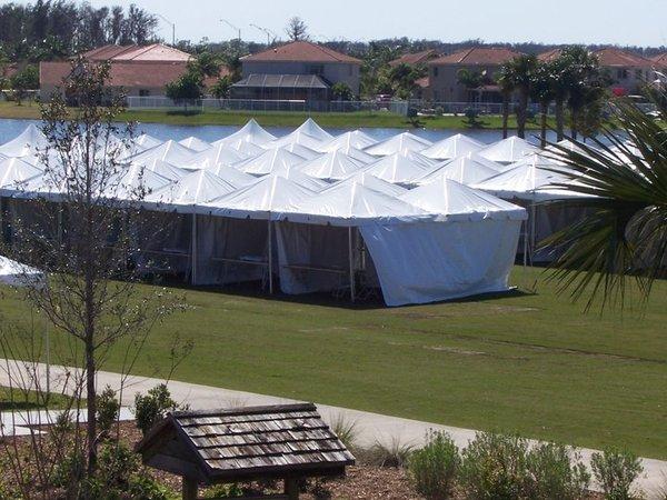 12' x 12' Frame Tent
