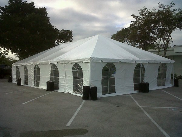 30' x 60' Frame Tent (Single & Twin Tube Hybrid Aluminum)
