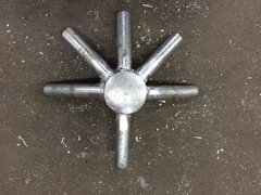 6 - Way Crown (Steel) - Click on Picture