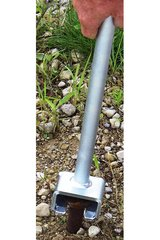 Stake Adapter - AC0009 Tent Stake Adapter is used with the JackJaw models that have adjustable bases to remove flush pounded stakes or those used in stake bar systems - Click on Picture