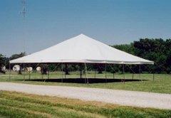 40' x 40' Pole Tent