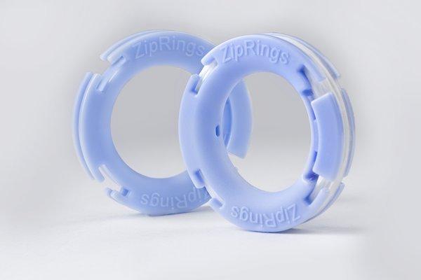 Singles: 1 Pair Zip Rings
