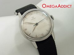 Omega Manual Stainless Steel Vintage Men's Watch #B093