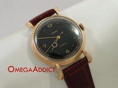 Wema Swiss Made 18k Gold Men's Vintage Watch #B184