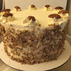 Island Carrot Cake