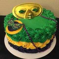 Mardi-Gra! Cake