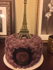 8-inch Rosette Cake (Feeds up to 18 people)