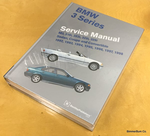 Bmw E36 3 Series Bentley Repair Manual Hard Cover B398 Bimmerbum Co Bmw Parts Accessories