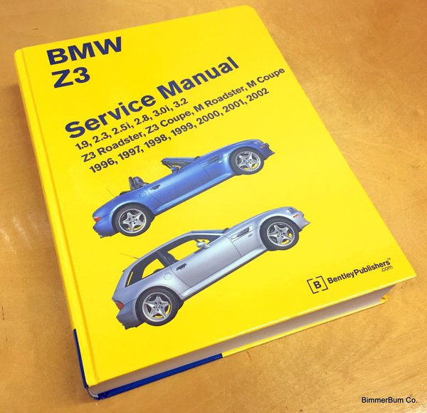 BMW Z3 Bentley Manual (Hard Cover) (BZ02)