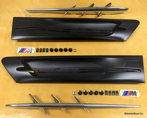 BMW Z3 M CoupeRoadster Side Vent Grill Kit 51132492949950