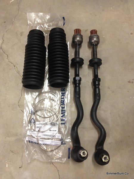 Bmw E36 Z3 Oem Lemforder Tie Rod Assembly Replacement Kit