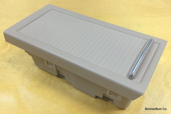 Genuine Bmw E46 Roller Storage Insert Tan 51 16 7 043