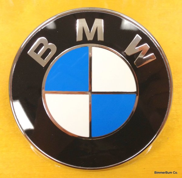 Genuine Bmw E85 E86 Z4 Front Roundel Emblem 51147044207 Bimmerbum Co Bmw Parts Accessories