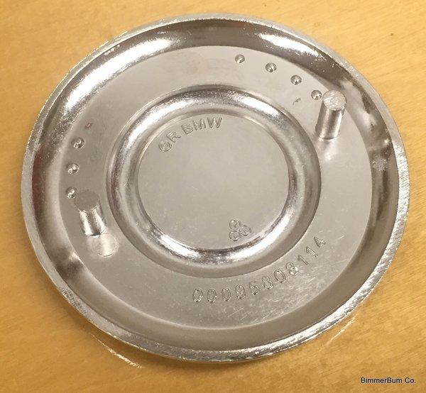 Genuine Bmw Vintage Metal Painted Hood Emblem Roundel