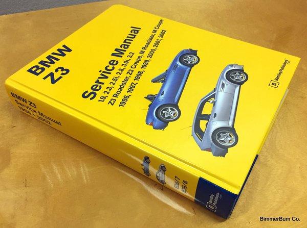 bmw z3 bentley manual  hard cover   bz02  bimmerbum co