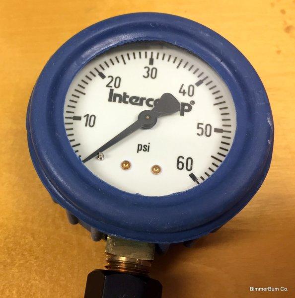 Bmw Z3 Fuel Consumption: (6-00901) Intercomp 60 PSI Tire Pressure Gauge (2.5 Inch