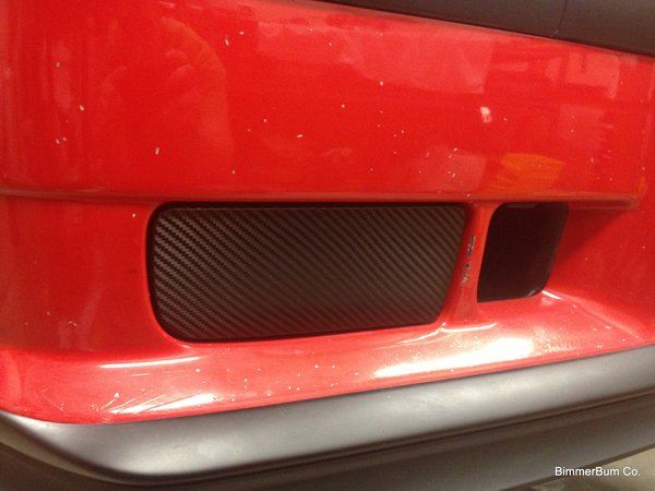Bmw E36 3 Series Carbon Fiber Look Fog Light Delete Plates