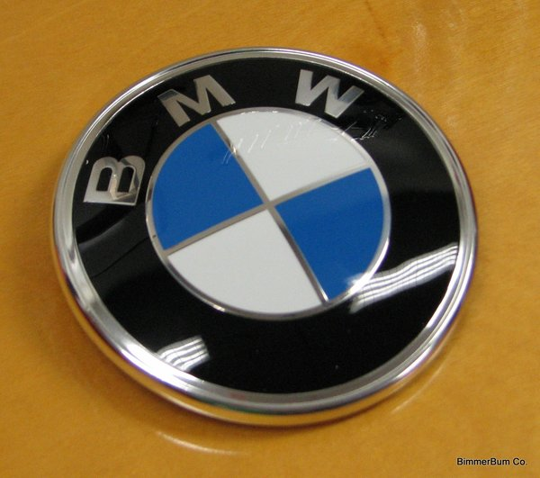 Genuine Bmw Z3 M Roadster Trunk Roundel Emblem