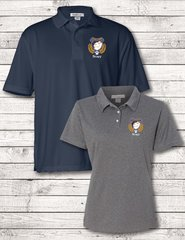 Mens/Ladies Featherlite Poly-tech embroidered polo
