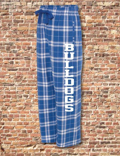 FLANNEL PANTS WITH SIDE SEAM POCKETS