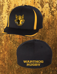 FLEX-FIT semi-fitted embroidered Warthog 2 Tone cap