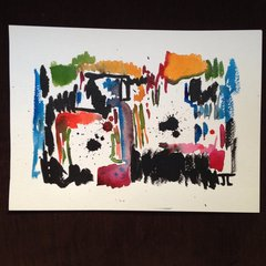 """Abstract colorful 11x15"""" original"""