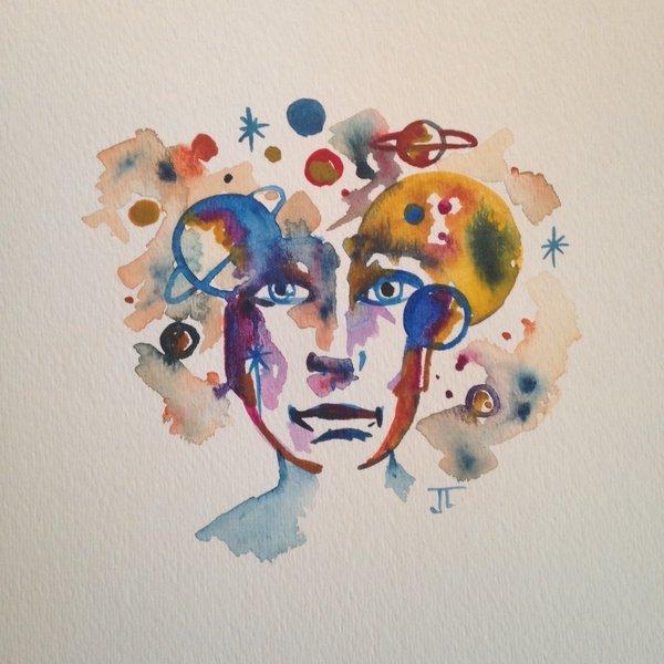 SOLD Mini Cosmic man