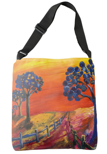 Blueberry Grove Tote