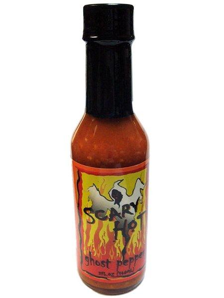 Scary Hot Ghost Pepper Hot Sauce | HotSauce4U.com