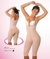 Fajas Salome # 0516 Faja Moldeadora y levantacola Espalda alta Gluteus Enhancer High back Girdle