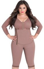 Post bariatric D'prada #11008 Post-surgery girdles with bra, sleeves and to the knee