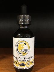 Plus 1500 mg Hemp Oil Tincture (60% CBD)