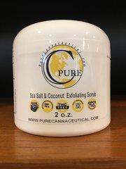 Hemp Sea Salt Scrub 2 oz 100 mg