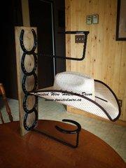 Vertical Hat Rack - 2 place